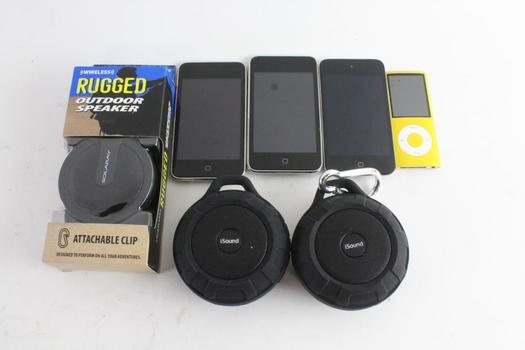 Apple IPods And More, 7 Pieces