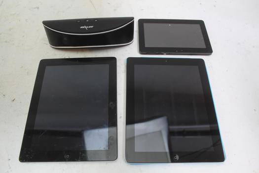 Apple & Other Tablets & Zealot Speaker; 4 Pieces