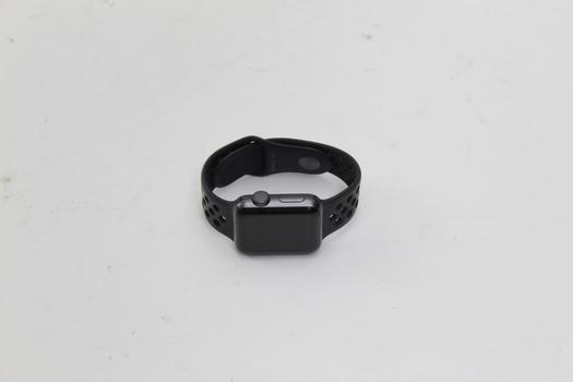 Apple Watch Nike Plus Series 3 (GPS), 38mm Aluminum, Nike Sports Band (Size S/M) - Activation Locked Sold For Parts