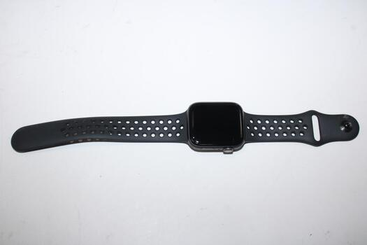 Apple Watch Nike+ Series 5 (GPS + LTE), 44mm Aluminum Case, Space Gray Nike+ Sports Band (Size M/L) - Sold For Parts