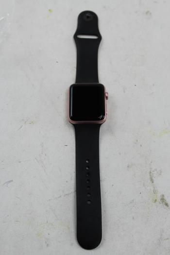Apple Watch Series 2 (GPS), 42mm Aluminum, Black Sports Band (Size S/M) - Activation Locked Sold For Parts