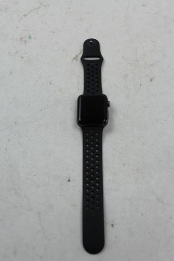 Apple Watch Series 2 Nike+ (GPS), 42mm Aluminum, Black Nike+ Sports Band (Size M/L)