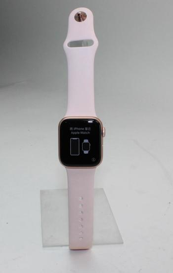 Apple Watch Series 4 (GPS), 40mm Aluminum Case, Pink Sand Sports Band (Size S/M) - Activation Locked Sold For Parts