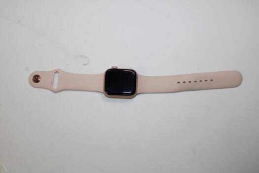 Apple Watch Series 4 (GPS + LTE) 40mm Aluminum Case, Pink Sand Sports Band (Size M/L)
