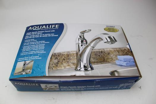 Aqualife Single Handle Kitchen Pull Out Faucet