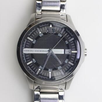 Armani Exchange Stainless Steel Watch