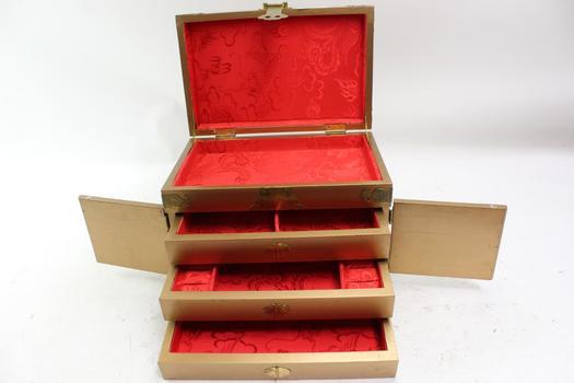 Asian Style Jewelry Box, Brand Unknown