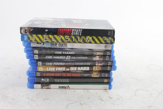 Assorted Blu-ray Movies,10 Pieces
