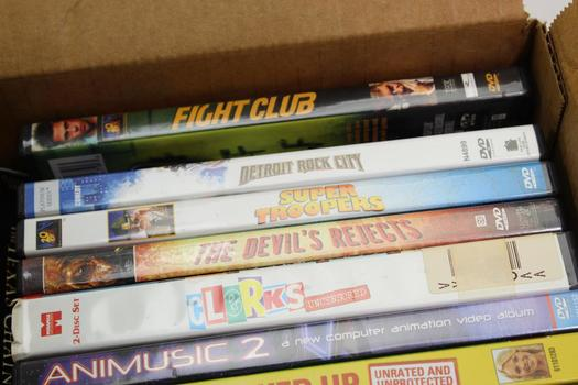 Assorted DVD Movies, 10+ Pieces