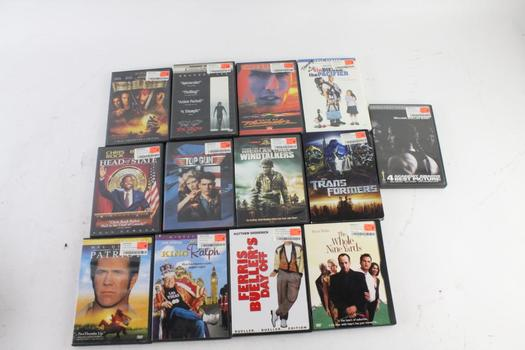 Assorted DVD Movies, 13 Pieces