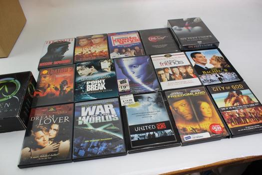 Assorted DVD Movies, 16 Pieces