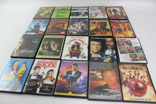 Assorted DVD Movies, 20 Pieces