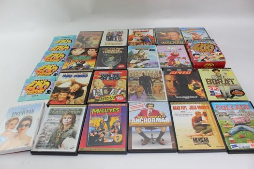 Assorted DVD Movies, 21 Pieces