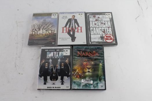 Assorted DVD Movies, 5 Pieces
