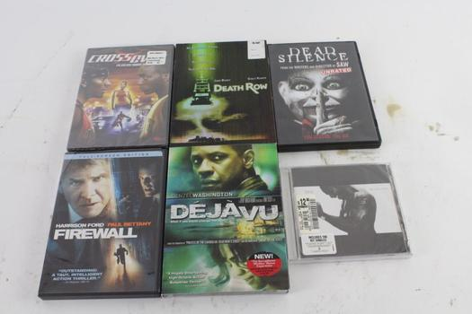 Assorted DVD Movies, 5 Pieces And More