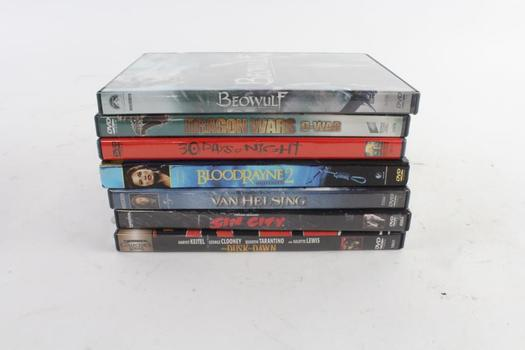 Assorted DVD Movies, 7 Pieces