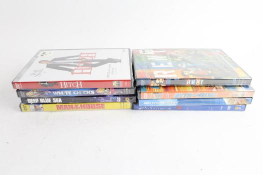 Assorted DVD Movies, 8 Pieces