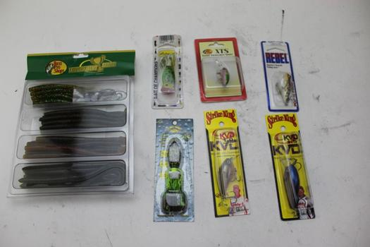 Assorted Fishing Lures; 5+ Pieces