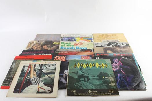 Assorted Records, 15+ Pieces