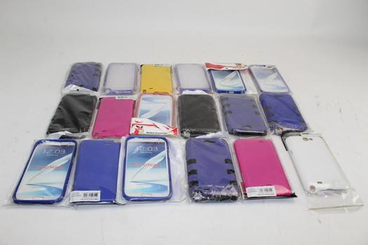 Assorted Samsung Galaxy Note 2 Phone Cases; 50+ Pieces
