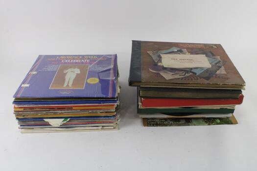 Assorted Vinyl Records, 20+ Pieces