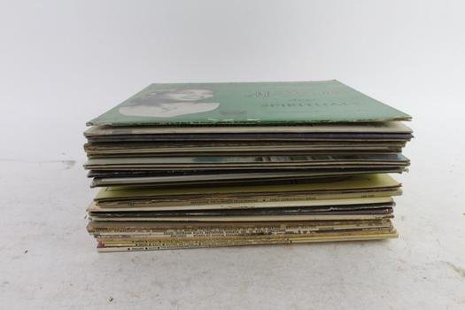 Assorted Vinyl Records, 25+ Pieces