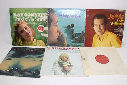 Assorted Vinyls 7 Pieces Total