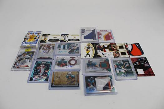 Assortment Of Panini NFL, MLB, NBA, & Soccer Trading Cards