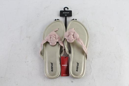 Avenue Sila Womens Sandals, Size 8W