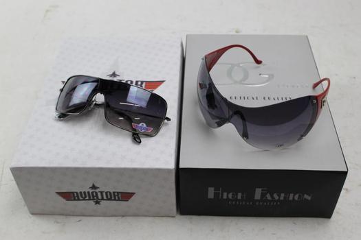 Aviator And DG Sunglasses Bulk Lot, 10+ Pieces