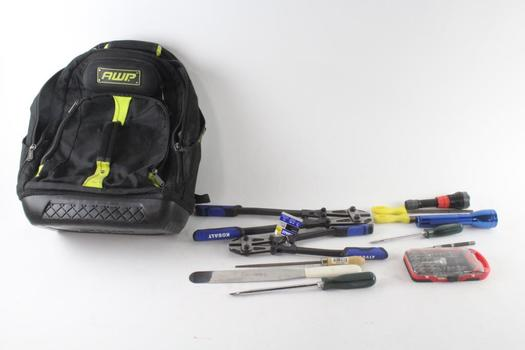AWP Backpack With Bolt Cutters And More, 10+ Pieces
