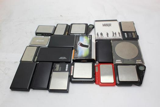 AWS, DigiWeigh And More Digital Pocket Scales, 15+ Pieces