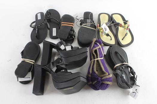 Babe And Other Shoes And Sandals, 8 Pairs