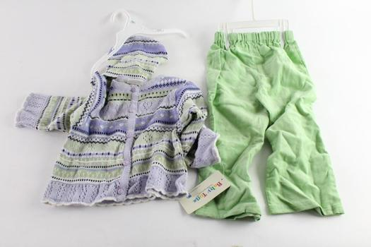 Baby Togs Sweater And Pants Set, Size 3T