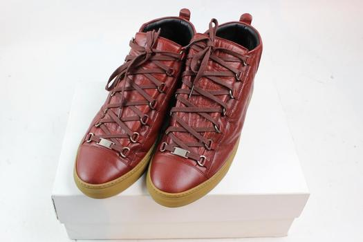 Balenciaga Rouge Brique Arena Shoes