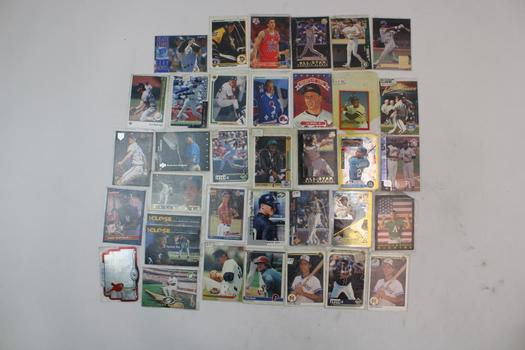 Baseball, Basketball, & More Assorted Trading Cards; 20+ Pieces