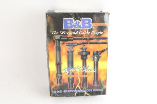 B&B Spark Plug Wire Set, For Ford-Mercury