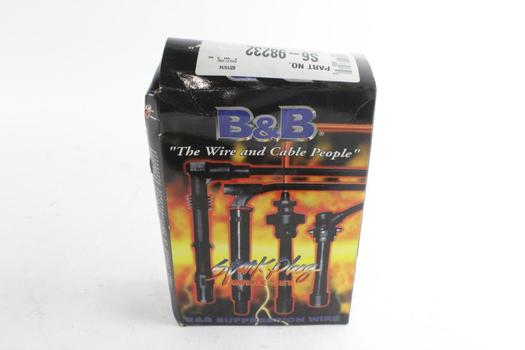 B&B Spark Plug Wire Set, Supression Wire