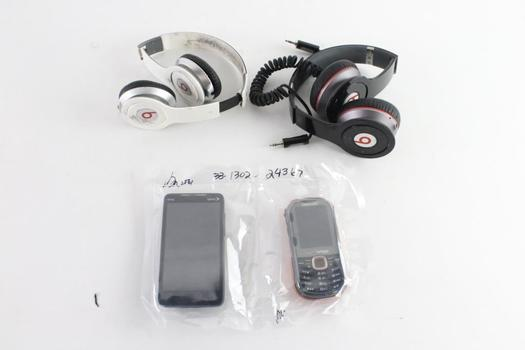 Beats By Dr. Dre Headphones, And More, 4 Pieces
