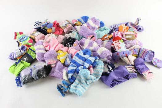 Beverly Hills Polo Club, Gildan Adult And Kids Sock Lot, 10+ Pairs