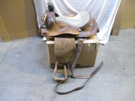Bill Hill Leather Saddle