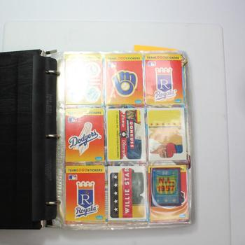 Binder Of Sports Cards, 3+ Pounds