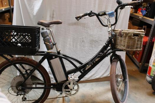 Biruni Scarlet Electric Battery Hybrid Bike