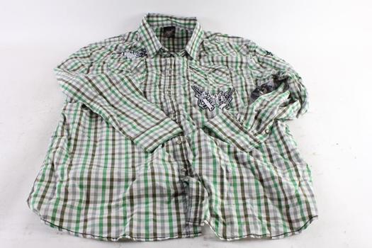 Blac Label Men's Shirt, 5XL
