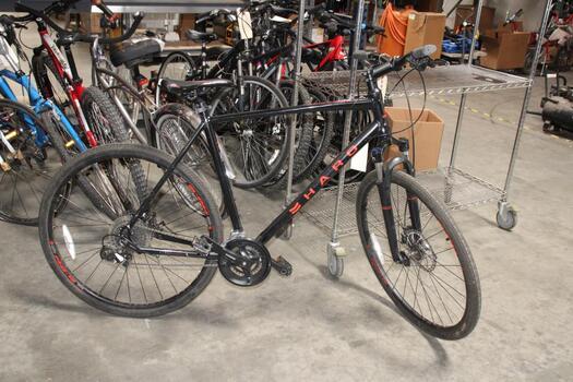 Black And Red Haro Mountain Bike