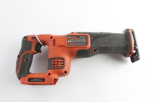 Black & Decker Cordless Reciprocating Saw