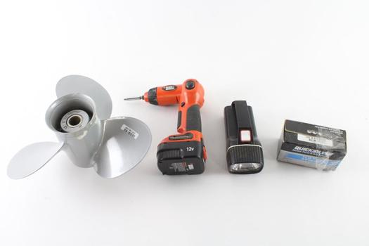 Black & Decker Electric Screw Driver And More, 4 Pieces
