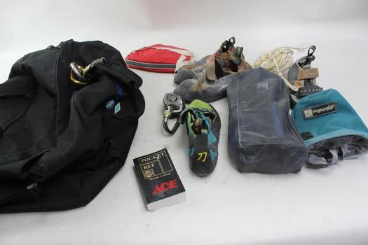 Black Diamond Harness, Climbing Shoes And More: PetZL: 5+ Items