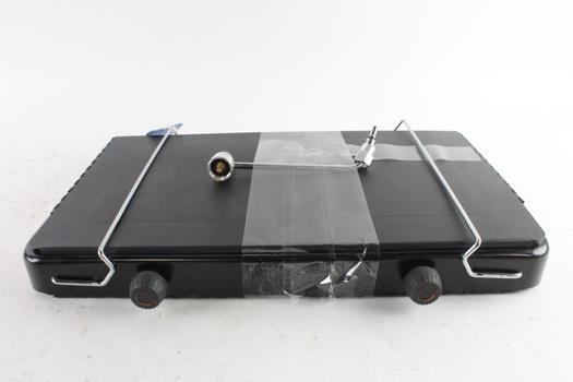 Black Portable Propane Camp Stove