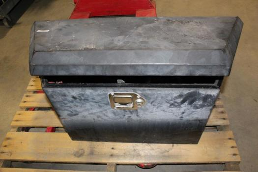 Black Tool Box With Tools, 10+ Pieces